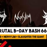 Sebas Brutal B-Day Bash omslag